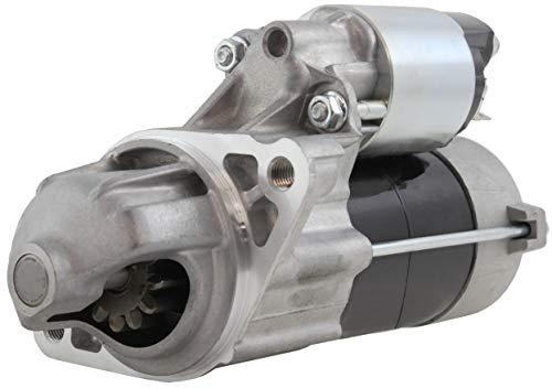 Massey Ferguson Backhoe - New Premium Starter fits Massey Ferguson Tractors GC2300, GC2310, GC2400, GC2410 GC2600 GC2610 Agco ST22A, ST24A Iseke TM3160, TM3200, TM3240 W/Iseki 3 Cyl Diesel E3112 E393B 68.5ci