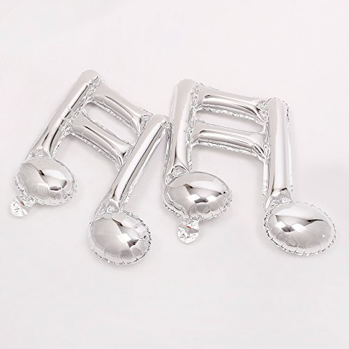 Music Party Decorations (ZOOYOO 10pcs/lot Music balloons 18