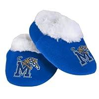 NCAA Memphis Baby Bootie Slippers