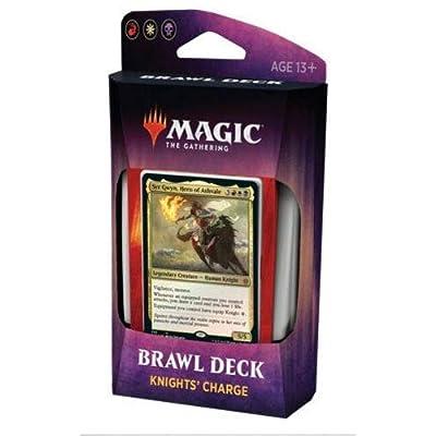 MTG Magic Throne of Eldraine Knights\' Charge Brawl Deck: Toys & Games [5Bkhe1400506]
