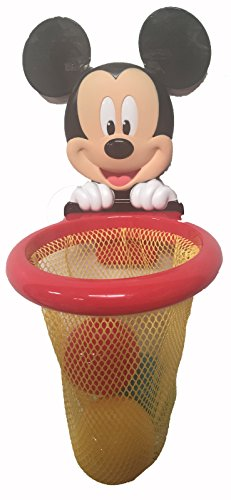 Disney Mickey Mouse Bath Basketball Hoop (Toys Bath Mickey Mouse)