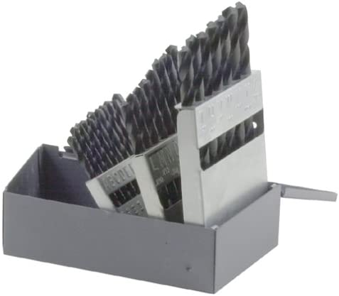B0000TZWMC Bosch BL0026 26-Piece Metal Index Black Oxide Drill Bit Set 41D90QTJY4L.