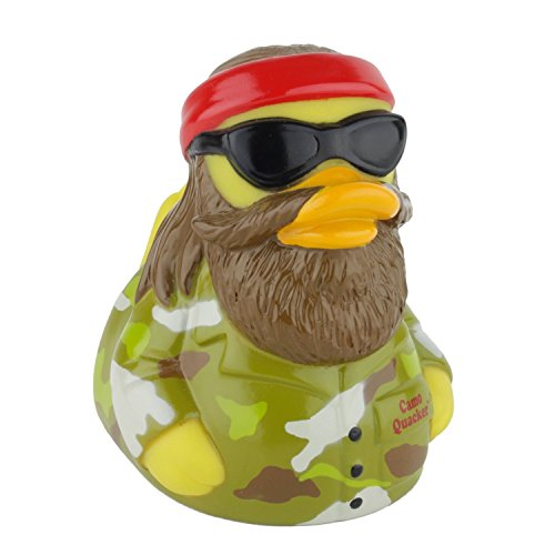 CelebriDucks Camo Quacker Rubber Duck Bath Toy