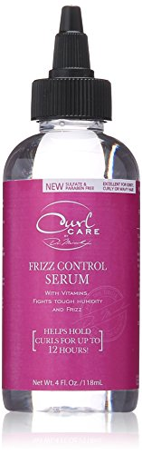 Dr. Miracle's Curl Care Frizz Control Serum, 4 Ounce Curl Care