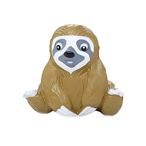 Cute Simulated Sloth Decompression Squeeze Toy Brain Game - Pausseo Scented Super Slow Rising Squeezable Dolls,Ideal for Stress Reliever & Anxiety Relief,Special Needs,Autism,Disorders & More]()