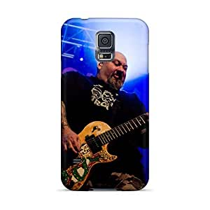 RitaSokul Samsung Galaxy S5 Shock Absorption Cell-phone Hard Covers Support Personal Customs Attractive Bowling For Soup Band Skin [qxP1910NkNg]