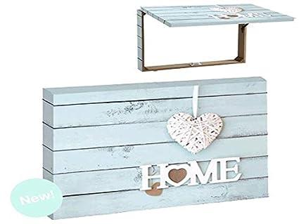 Item Tapa Para Contador De Luz Color Azul Diseño Home Con Corazón