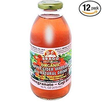 BraggOrganic Bragg Pom/Goji Vinegar 16 Oz (Pack Of 12) by Bragg