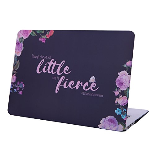 "Discount HDE Matte Hard Shell Clip Snap-on Case for MacBook Air 13"" - Fits Model A1369 / A1466 (Fierce) hot sale"