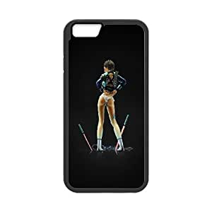 iPhone 6 4.7 Inch Cell Phone Case Black ai21 fighter girl lazer back illust anime art GY9085299