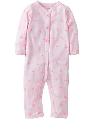 Baby Girls' Footless Sleep N Play (Baby)