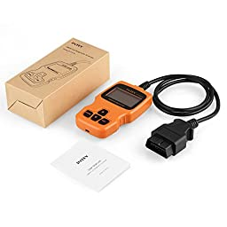 INTEY OBD2 Scanner Car Code Reader, Read and Clear Error Codes for 2000 or later US, European and Asian OBD2 Protocol Vehicle