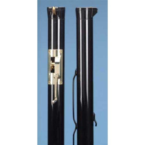 Douglas Premier XS Black Internal Wind Tennis Posts w/ Brass Gears