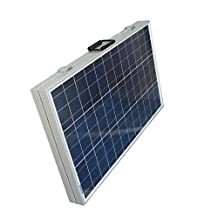 ECO-WORTHY 120 Watt Portable Kits -120W 2x60W Folding PV Solar Panel 12V RV Boat Off Grid with 15A Charge Controller …