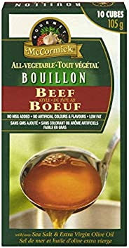 McCormick Gourmet, Premium Quality, All-Vegetable Bouillon, Chicken Style, 105g, Case Pack 12 Count