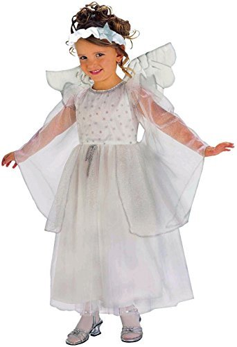 Deluxe Angel Child Costume Size 4-6 Small -