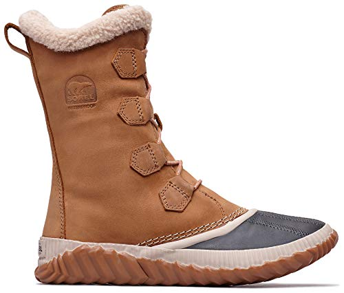 Sorel – Women's Out 'N About Plus Tall Insulated Winter Boot, Elk, 8.5 M US