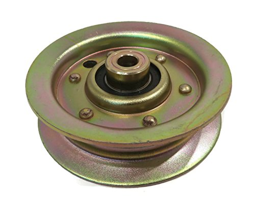 FLAT IDLER PULLEY for Husqvarna Electrolux Jonsered Poulan 532131494 532173438 by The ROP (Front Idler Pulley)
