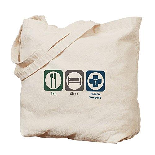 CafePress–Eat apagado cirugía plástica–Gamuza de bolsa de lona bolsa, bolsa de la compra