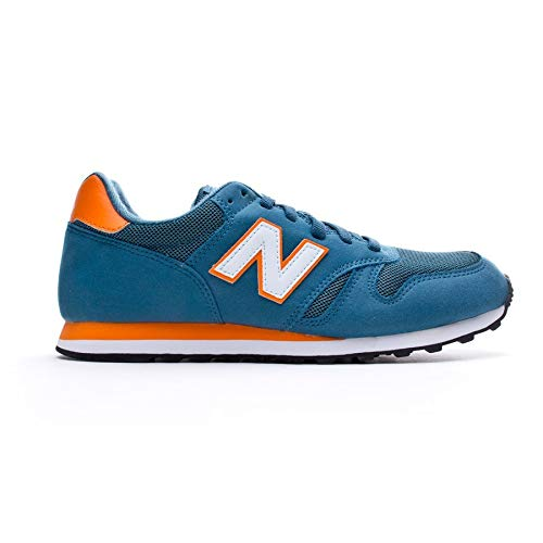 new balance azul y naranja