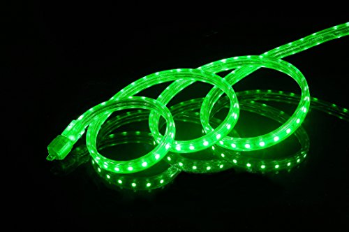 Green Led Christmas Rope Lights in US - 8