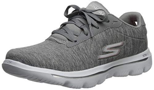 Skechers Women's GO Walk Evolution ULTRA-15756 Sneaker, Gray, 6.5 M US