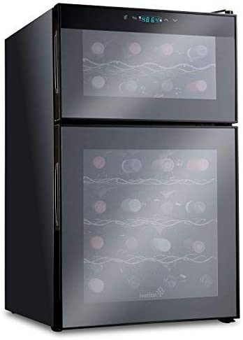 Ivation Thermoelectric Temperature Freestanding Refrigerator product image