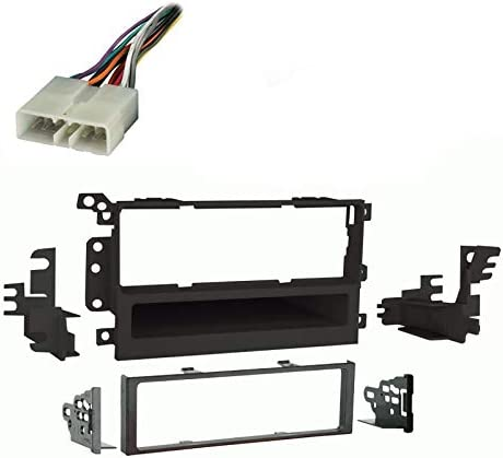 Amazon.com: Compatible with Chevy Tracker 1998 1999 2000 2001 2002 2003  2004 Single DIN Stereo Harness Radio Install Dash Kit Package: Car  ElectronicsAmazon.com