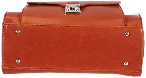 Tamaris MICAELA Shopper A13401624, Damen Shopper 34x39x11 cm (B x H x T) Orange (Burned Orange 624)