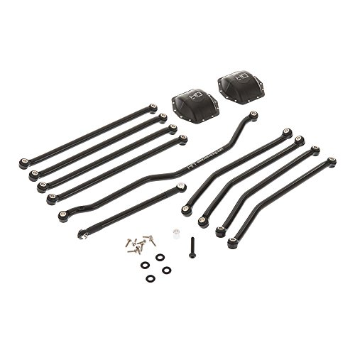 Hot Racing Aluminum Black Link Set: Axial Wraith, Ax10, Ridgecrest