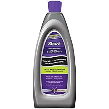 Amazon Com Shark Low Moisture No Rinse Carpet Shampoo