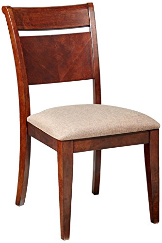 Furniture At Home Indigo Collection Side Chair, Set of 2, Cherry