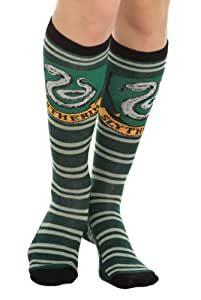 Harry Potter Slytherin Juniors Green Knee High Calcetines