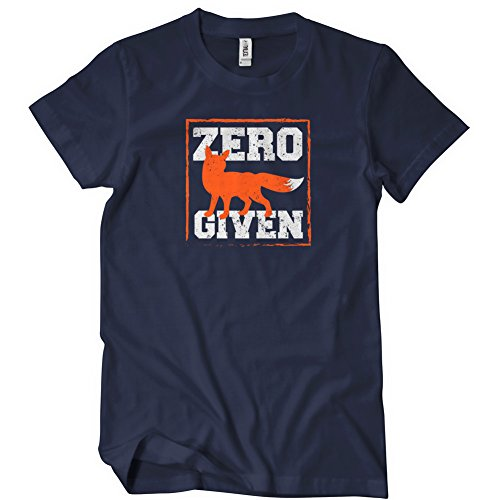 Zero Fox Given T-Shirt Funny Adult Womens Cotton Tee Sizes S-2XL