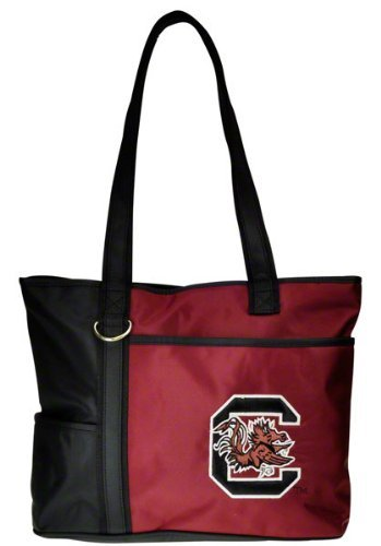 (NCAA South Carolina Fighting Gamecocks Tote Bag with Embroidered Logo)