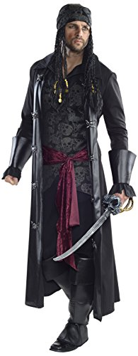 Rubie's Men's Grand Heritage Caribbean Pirate Costume, Multi, Standard