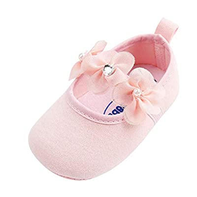 Tronet Baby Shoes, Toddler Girls Pearl Fashion Cotton First Walkers Non-Slip Kid Shoes