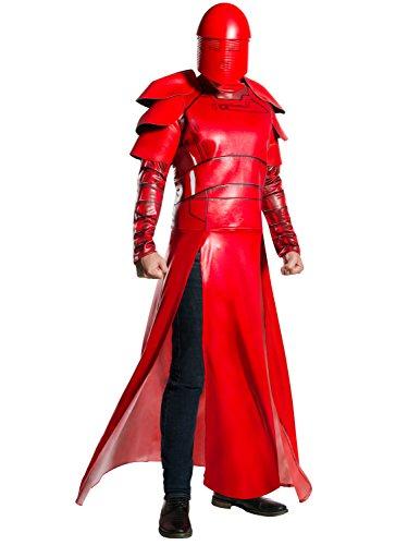 Jedi Halloween Costume For Adults (Rubie's Star Wars Episode VIII: The Last Jedi Men's Deluxe Praetorian Guard Costume  Red )