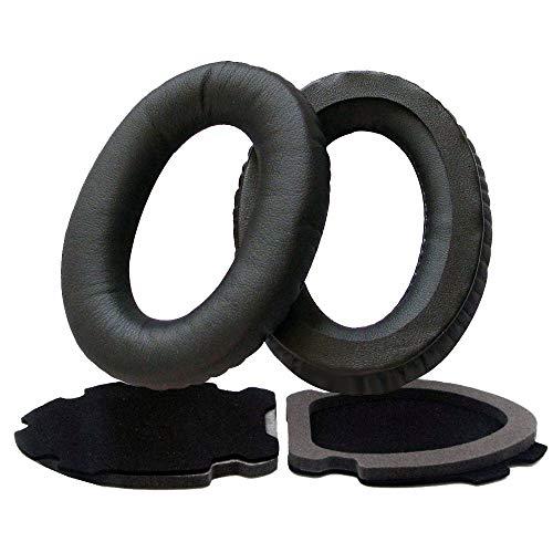 Bestdealing Foam Replacement Earpads Earphone Cushion Ear Pad Headset Headphone for Bose Aviation X A10 A20 Black