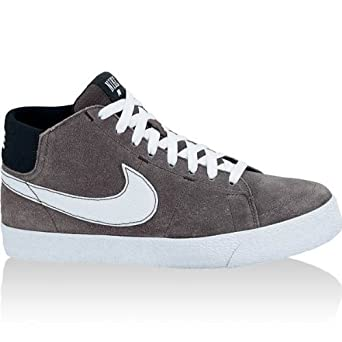 san francisco 973c2 3f053 Nike SB Blazer Mid LR Sneaker - Midnight Fog White Black  UK 6 EUR 40 US 7   Amazon.co.uk  Clothing