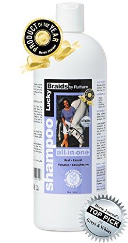 Lucky Braids All In One Horse Shampoo  Quart
