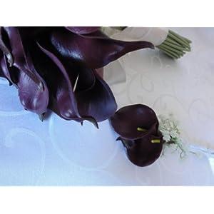 Lily Garden Luxury Calla Lily Bridal Wedding Bouquet 3 Dozen with Groom Boutonniere 5