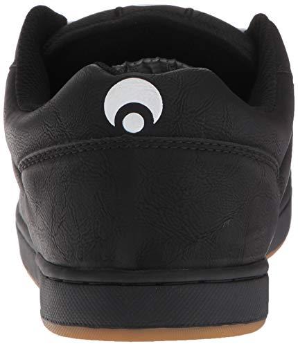 Black Gum Men's Shoe Grey Skateboarding Osiris Loot dqIXw77