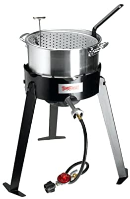 Bayou Classic 2212 Aluminum Outdoor Fish Cooker Set