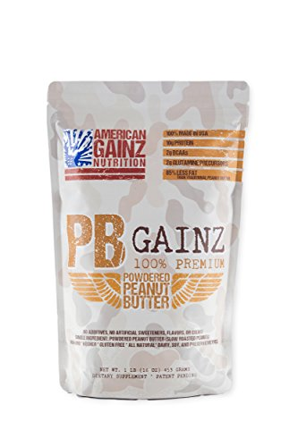 ican Made │ #1 Premium Powdered Peanut Butter Made from High Oleic Peanuts | Premium Plant Protein | All Natural | No GMO | Gluten, Dairy, Soy, Preservative Free ()