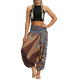 LuckyGirls Chic INS Pantalones Yoga Mujeres, bonzaai ...