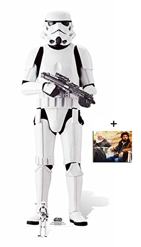 Fan Pack - Imperial Stormtrooper Rogue One: A Star Wars Story Lifesize and Mini Cardboard Cutout/Standee / Standup - Includes 8x10 Star Photo]()