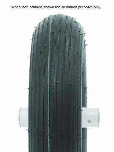 Oregon 58-013 480/400-8 Wheelbarrow Rib Tread Tubeless Tire 4-Ply (Renewed) (Tubeless Rib Tread Tire)