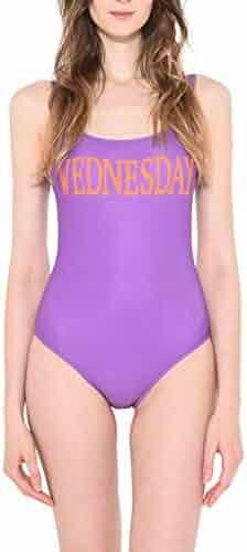 cec4ff96613 Alberta Ferretti Women's 42015184J0273 Purple Polyester One-Piece Suit