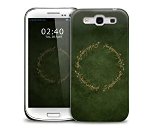 lord of the ring script Samsung Galaxy S3 GS3 protective phone case